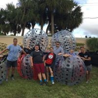 youth bubble soccer