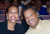 Pastor Luter and Sister Luter