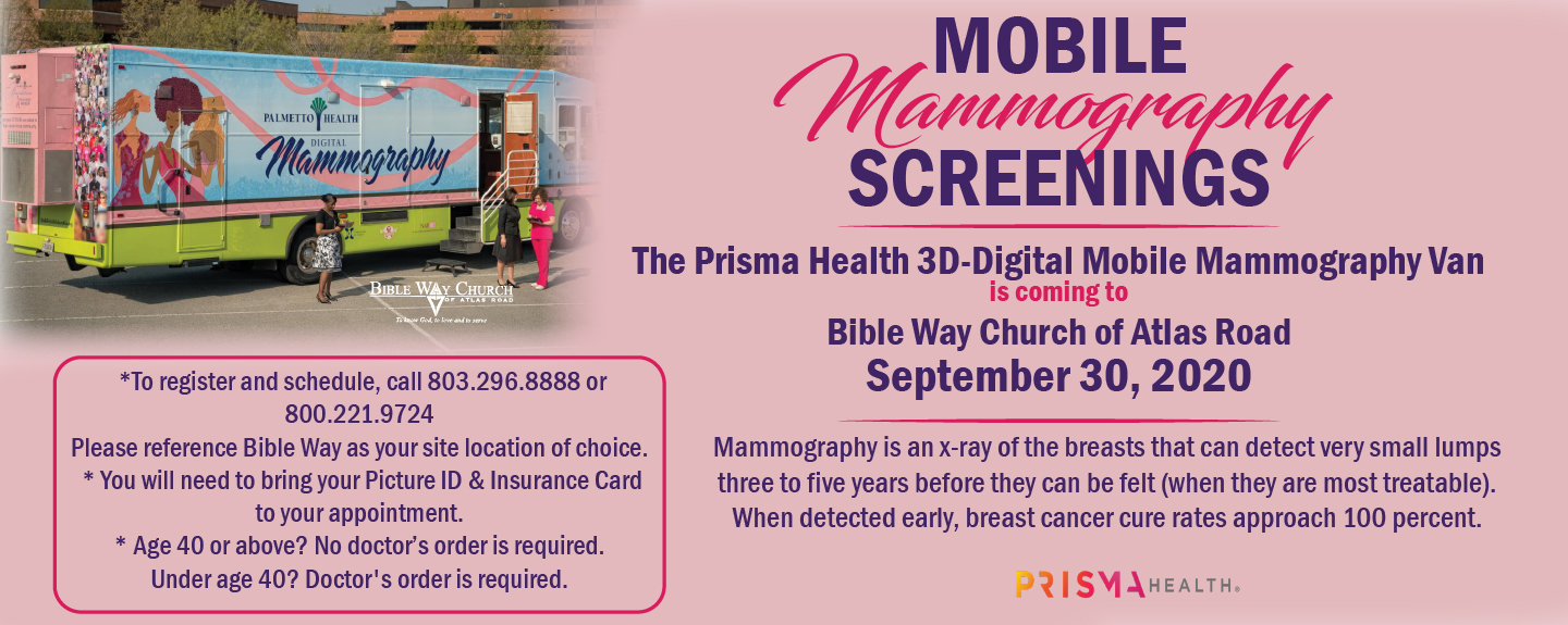 JRJWC Mobile Mammography Web Banner