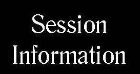 Updated session informbation button
