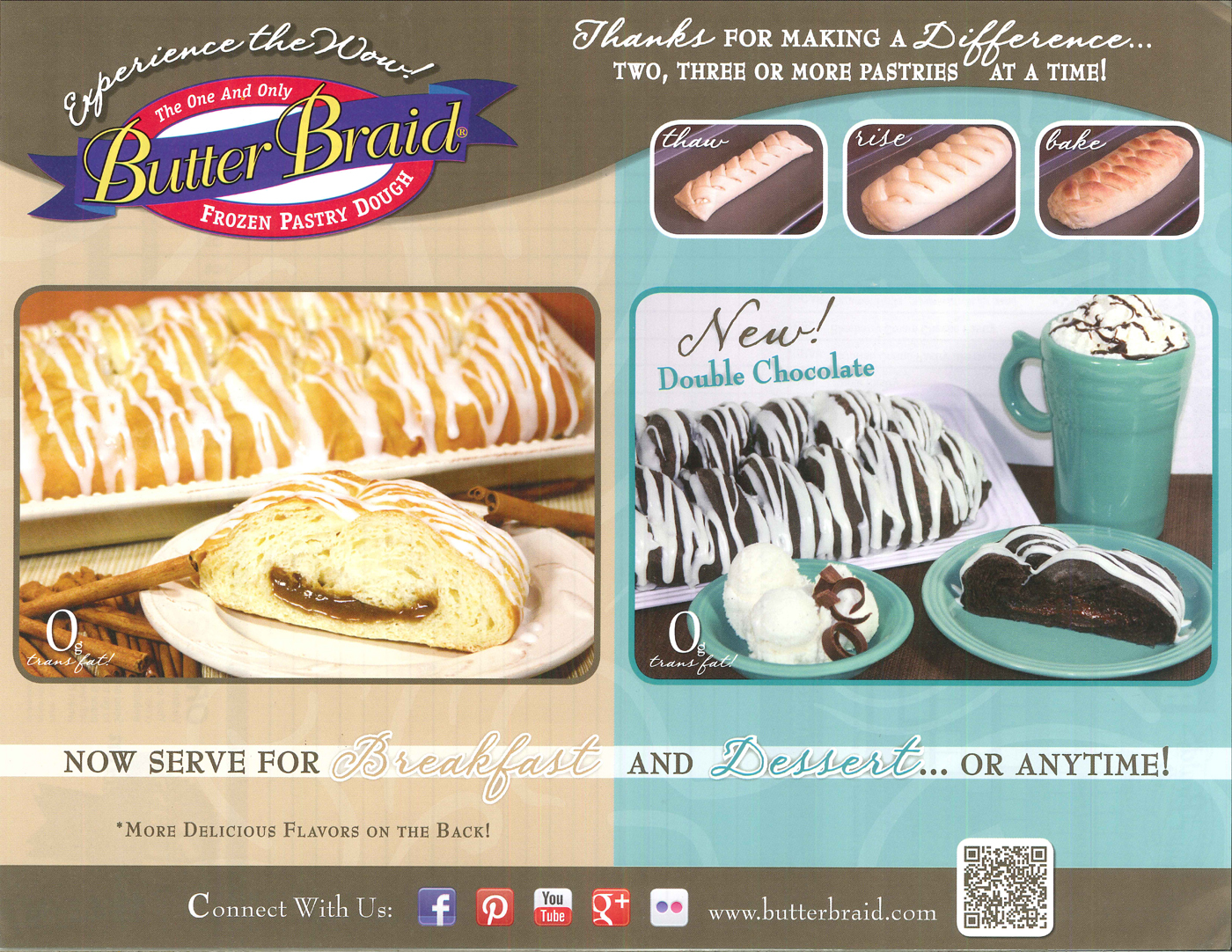 Butter Braid Pastry 2014 Brochure Image