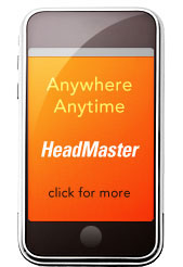 Anytime, Anywhere. HeadMaster, Click for more info.