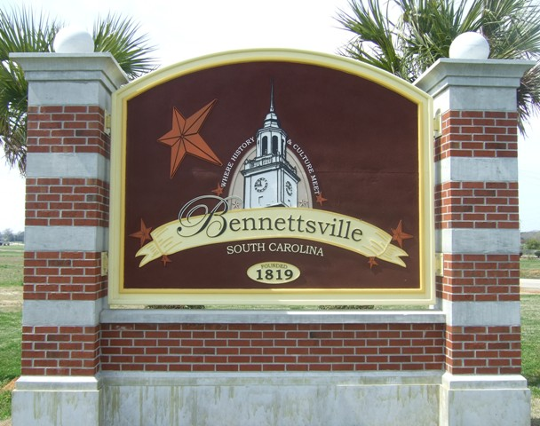 Bennettsville sign